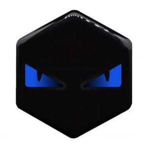 boze ogen logo blauw piaggio zip kopen