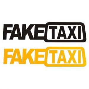 Fake Taxi sticker kopen