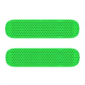reflectoren vespa piaggio zip neon groen