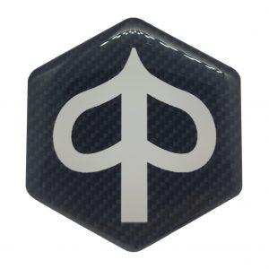 Carbon Piaggio zip logo - piaggioziplogo.nl