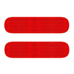 reflector vespa piaggio zip rood