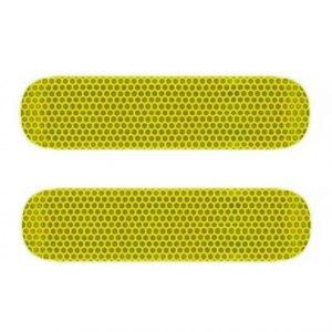 Reflector piaggio zip neon geel