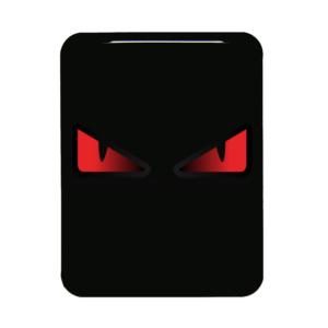 Boze ogen rood vespa logo